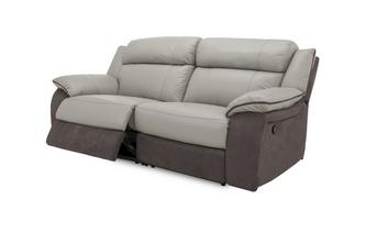 3 Seater Manual Recliner Grammar Showroom