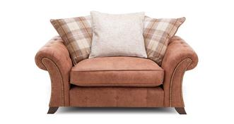 Granby Pillow Back Cuddler Sofa