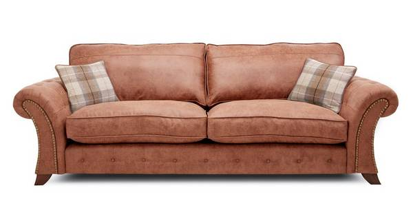 Granby 4 Seater Formal Back Sofa
