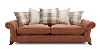 Granby 4 Seater Pillow Back Sofa