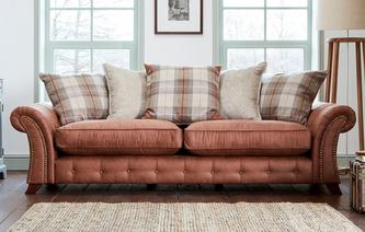Granby 4 Seater Pillow Back Sofa Oakland
