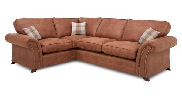 Granby Right Hand Facing 3 Seater Formal Back Corner Sofa