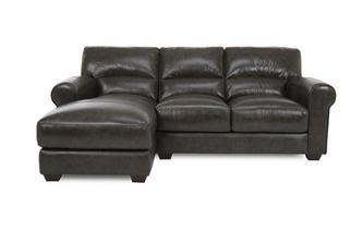 Left Hand Facing Chaise End Sofa Milan