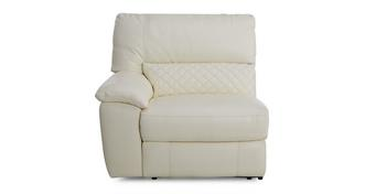 Grid Left Hand Facing One Arm Manual Recliner Unit