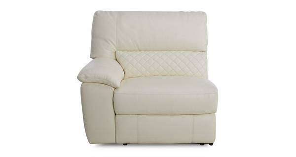 Grid Left Hand Facing One Arm Electric Recliner Unit