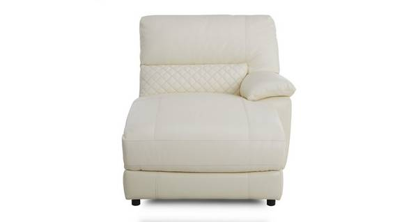 Grid Right Arm Facing Chaise Unit