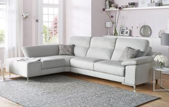 Guest Left Hand Facing 3 Seater Corner Sofa Bed Momentum