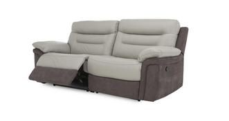 Guide 3 Seater Manual Recliner