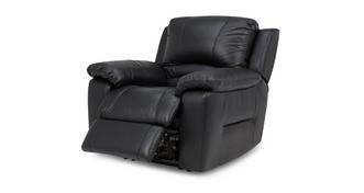 Guild Leather and Leather Look Manual Recliner Chair