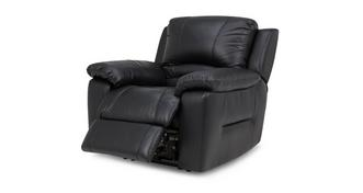 Guild Leather and Leather Look Electric Recliner Chair
