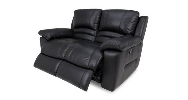 Guild Leather and Leather Look 2 Seater Manual Recliner