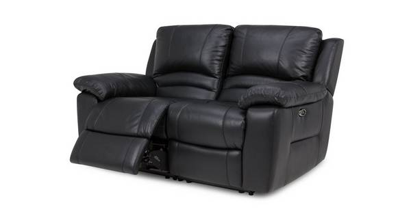 Guild Leather and Leather Look 2 Seater Electric Recliner