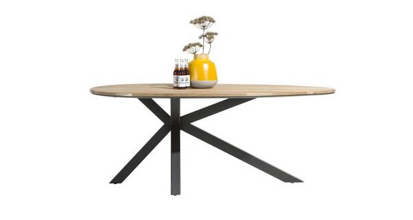Habana Teardrop Shape Dining Table