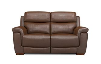 Hadley 2 Seater Electric Recliner Brazil with Leather Look Fabric