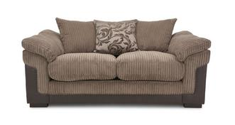 Hallow 2 Seater Pillow Back Deluxe Sofa Bed