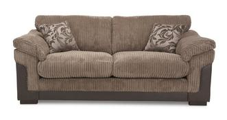 Hallow 3 Seater Fomal Back Deluxe Sofa Bed