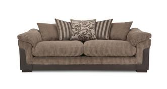 Hallow 4 Seater Pillow Back Sofa