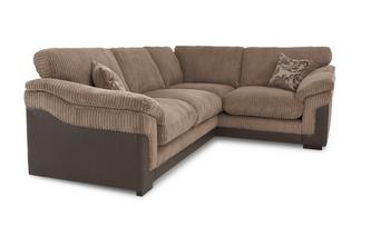 Left Hand Facing 2 Seater Formal Back Corner Sofa Eternal