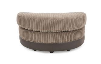 Hallow Half Moon Footstool Eternal