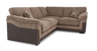 Hallow Left Hand Facing 2 Seater Formal Back Corner Deluxe Sofa Bed