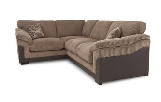 Right Hand Facing 2 Seater Formal Back Corner Sofa Eternal