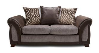 Halton Large 2 Seater Pillow Back Sofa