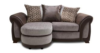 Halton 2 Seater Pillow Back Lounger