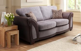Halton Large 2 Seater Formal Back Deluxe Sofa Bed Eternity