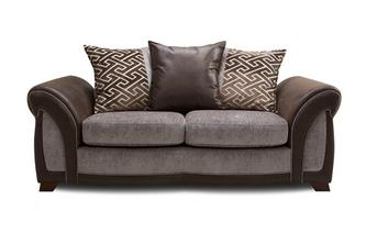 Large 2 Seater Pillow Back Deluxe Sofa Bed Eternity