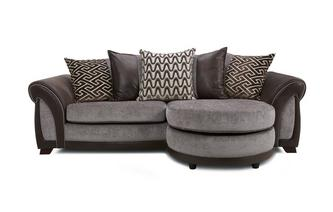 4 Seater Pillow Back Lounger Eternity