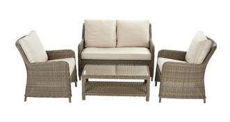 Hampstead High Back Sofa Set