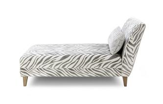 Tijger patroon Chaise Longue