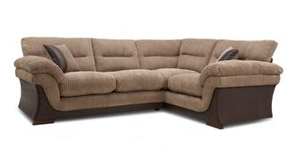Hanson Left Hand Facing Arm 2 Piece Corner Sofa