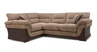 Hanson Right Hand Facing Arm 2 Piece Corner Sofa