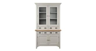 Harbour Small Sideboard & Glass Hutch