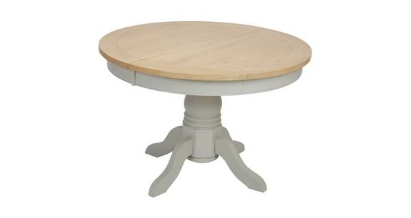 Harbour Round Extending Dining Table