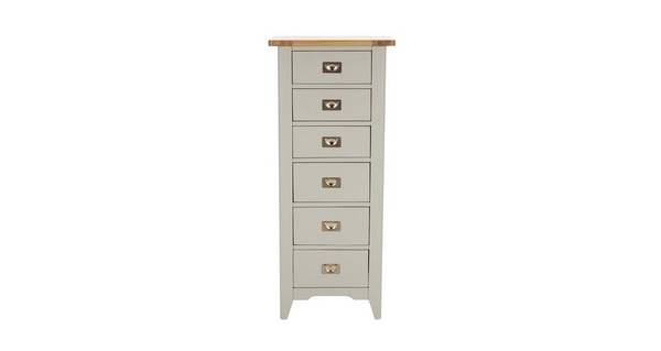 Harbour Bedroom 6 Drawer Tall Boy