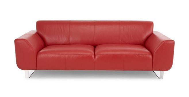 Hardy: Leather 3 Seater Sofa