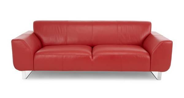 Hardy Leather 3 Seater Sofa