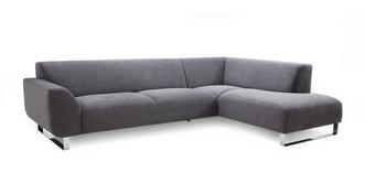 Hardy Left Hand Facing Arm Corner Sofa (plaza fabric)