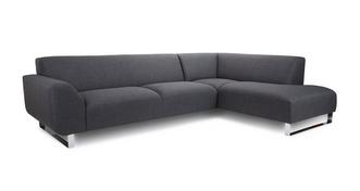 Hardy Left Hand Facing Arm Corner Sofa (revive fabric)