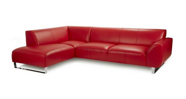Hardy Leather Right Hand Facing Arm Corner Sofa