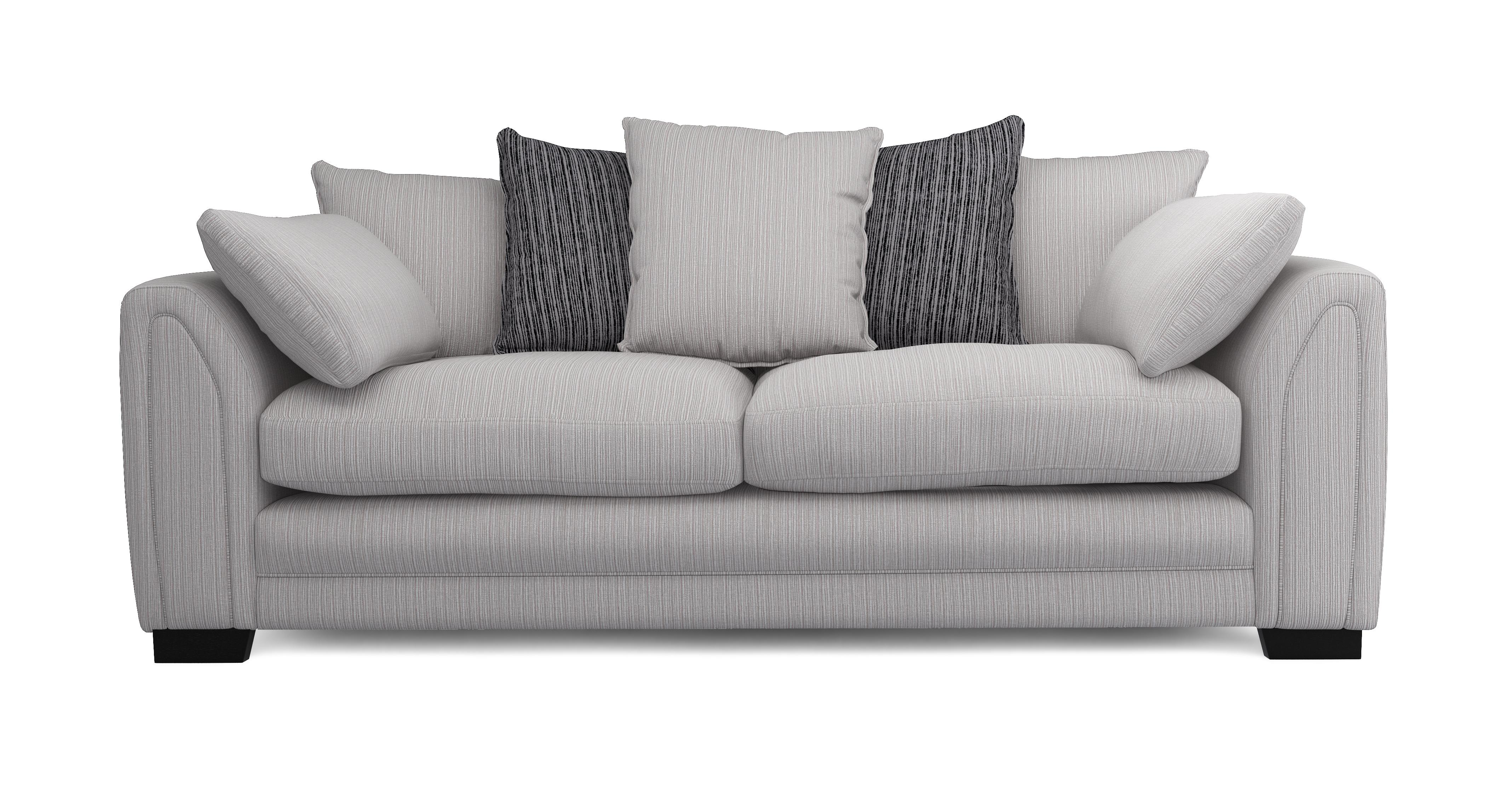 About the Harlem: Pillow Back 4 Seater Sofa