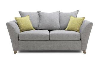 Large 2 Seater Pillow Back Sofa Harlow
