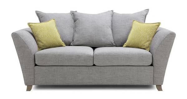 Harlow Large 2 Seater Pillow Back Sofa