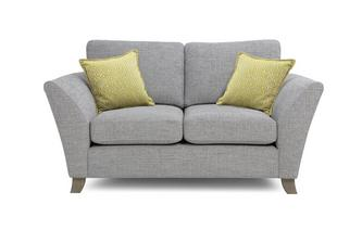 Small 2 Seater Formal Back Sofa Harlow