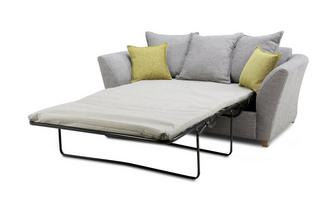 Large 2 Seater Pillow Back Sofa Bed Harlow