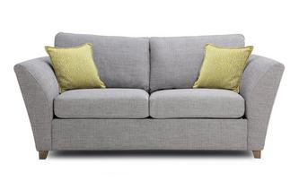 Large 2 Seater Formal Back Deluxe Sofa Bed Harlow