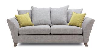 Harlow 3 Seater Pillow Back Sofa