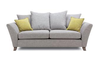 3 Seater Pillow Back Sofa Harlow